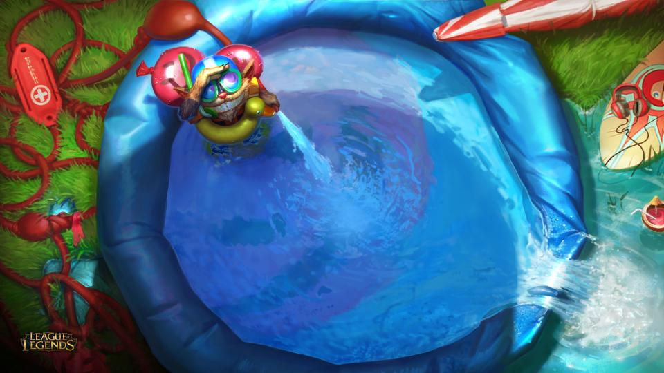 Poolparty-Einladung | League of Legends