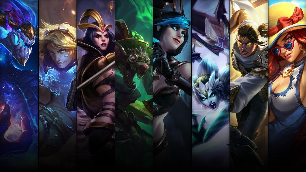 League of legends champions im angebot