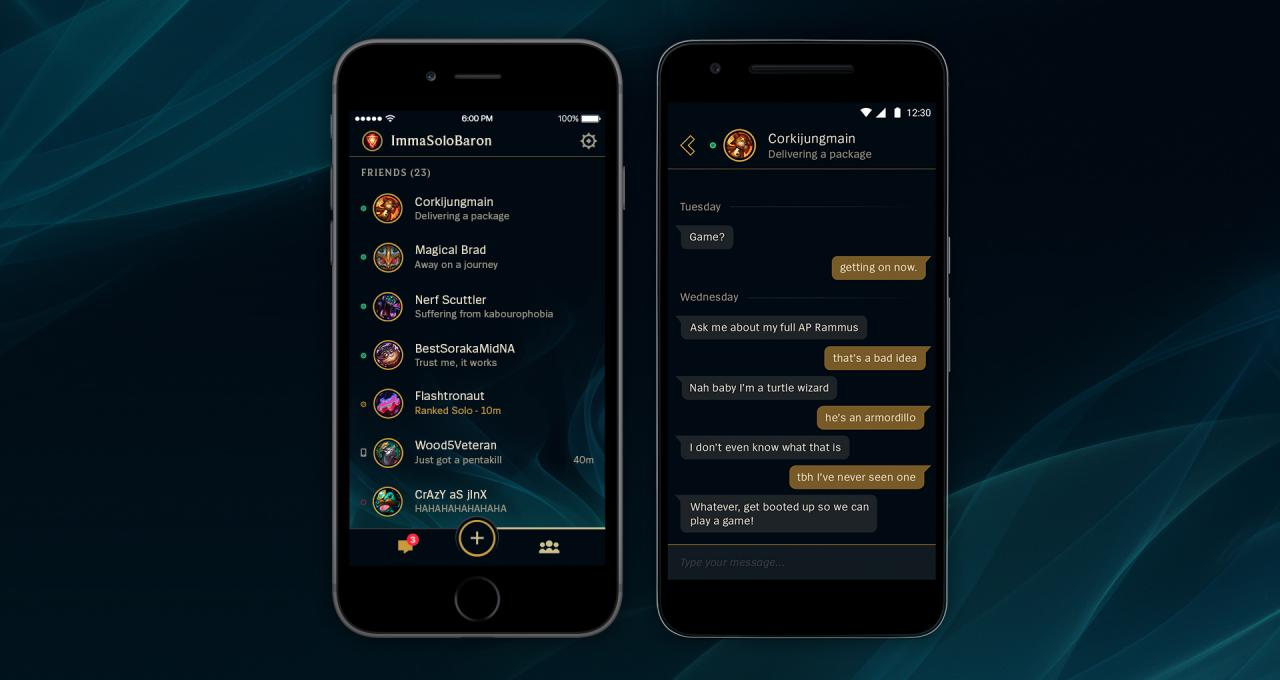 Download the free League Friends mobile app! | League of Legends