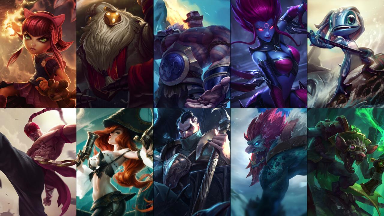 100% high quality sale online best sale Rotation des champions : Annie, Bard, Braum et bien plus ...
