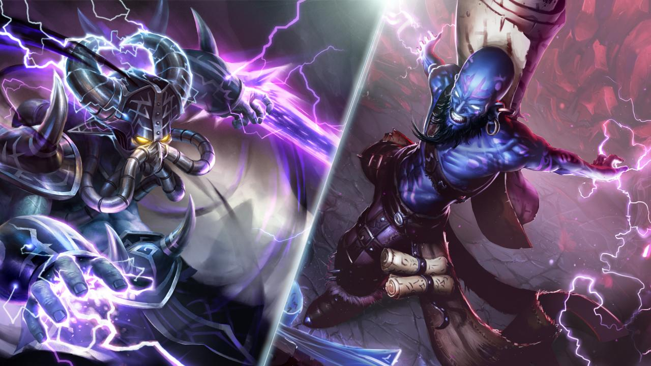 Champion Update Preview Kassadin Ryze More