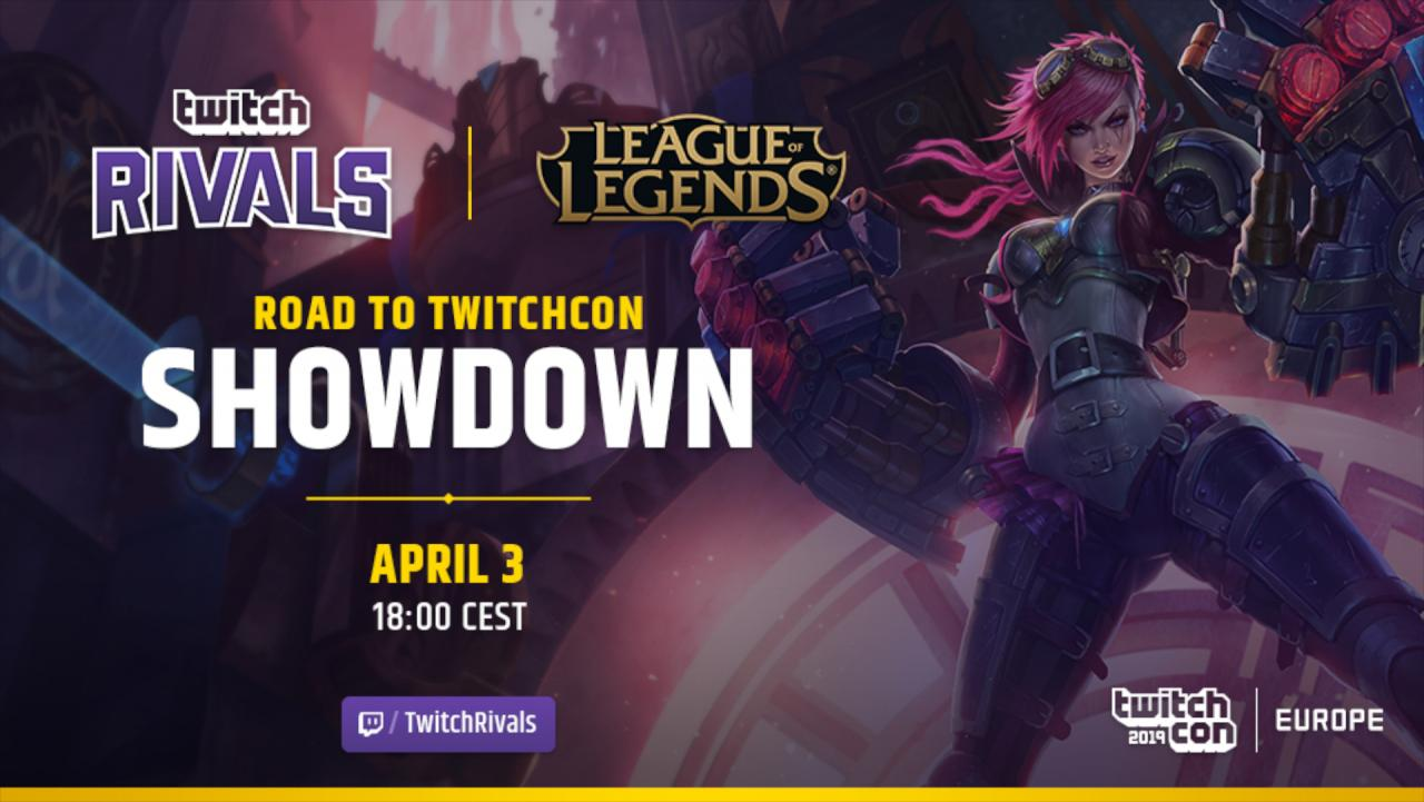 Get ready for Twitch Rivals League of Legends Streamer Tournament
