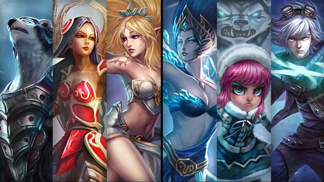 Champion And Skin Sale 17 12 20 12 League Of Legends