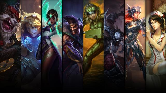 league of legends champions angebot
