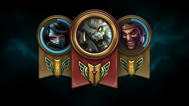 Champion Mastery Levels  Live Now