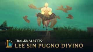 La potenza del Pugno Divino | Trailer aspetto Lee Sin Pugno Divino 2017 - League of Legends